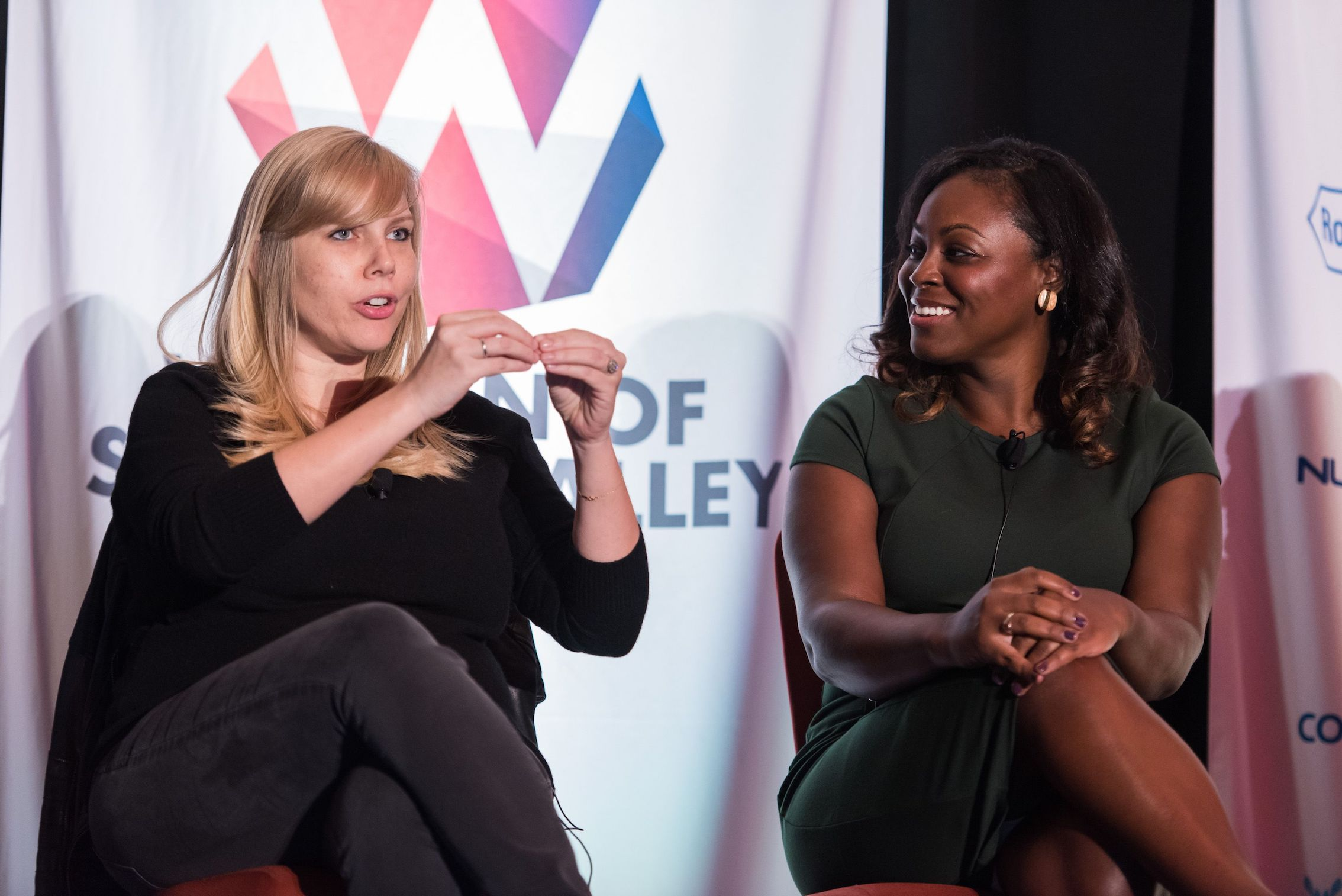 Panel at Women of Silicon Valley 2018 2