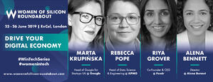 Women of Silicon Roundabout 2019: 4 sessions and what you'll learn from them