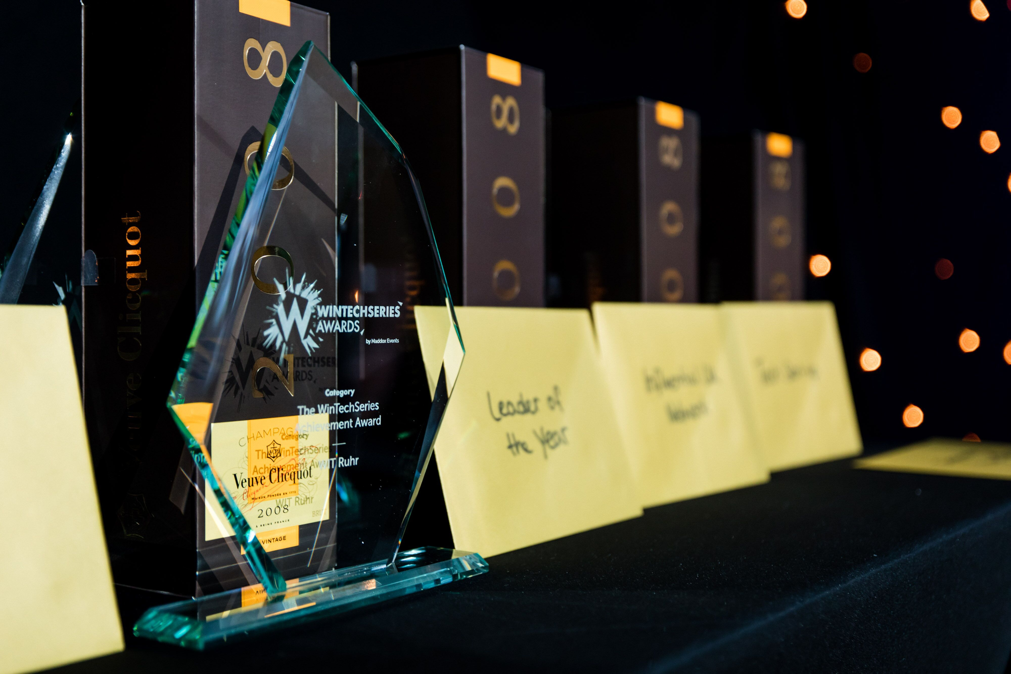 WinTechSeries Awards 2019: Shortlist Announced!