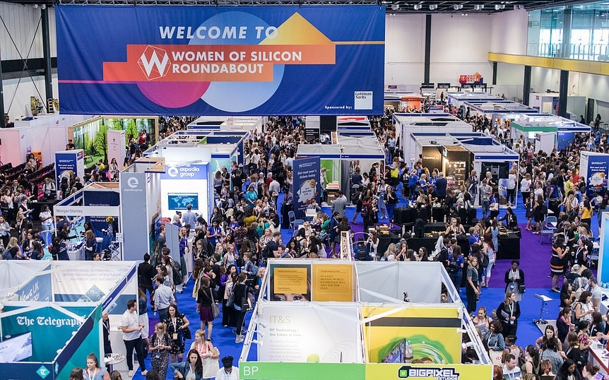 Exhibition-Area-Women-of-Silicon-Roundabout